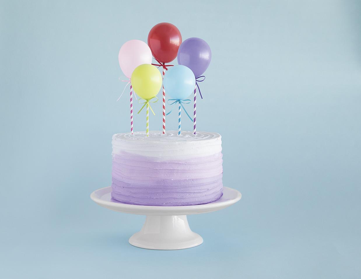 Mini Balloons Cake Topper - PartyWorld