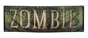 Large Zombie Banner