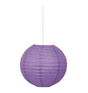 Lavender Paper Lantern