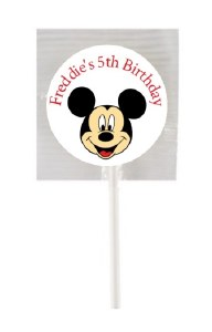 15Pk Mickey Mouse Lollipops