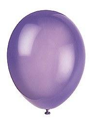 Midnight Purple Balloons