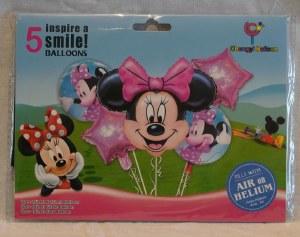 Minnie 5 Piece Balloon Kit