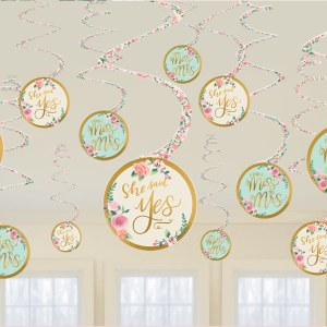 Mint To Be Swirl Decorations