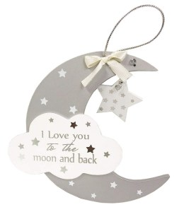 Moon & Back Plaque
