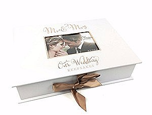Mr & Mrs Our Wedding Keepsake