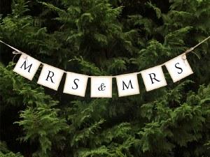 Mrs Wedding Banner