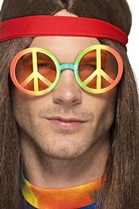 Multi Coloured Hippie Specs