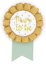Mum To Be Badge