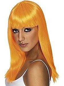 Neon Orange Wig