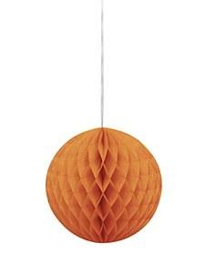 Orange Honeycomb Ball