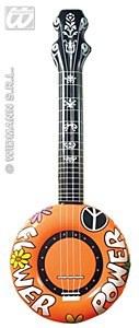 Orange Inflatable Banjo