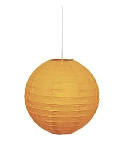 Orange Paper Lantern