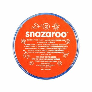 Orange Snazaroo Face Paint