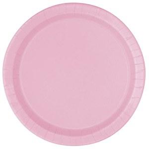 Pastel Pink Paper Plates