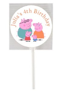15PK Peppa Pig Lollipops