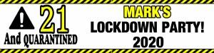 Personalised Lockdown Banner