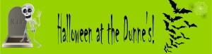 Personalised Skeleton Banner