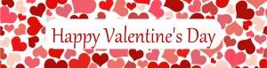 Personalised Valentines Banner