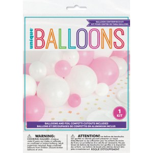 Pink Gingham Balloon Kit