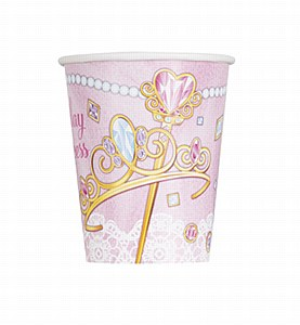 Pink Princess Party Cups