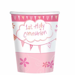 Pink Church Communion Cup