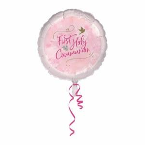 Pink Dove Foil Balloon