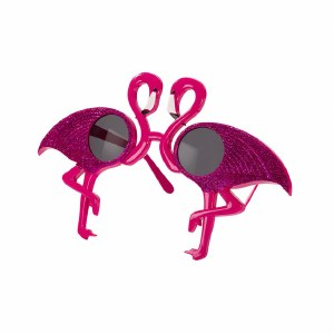 Pink Flamingo Glasses