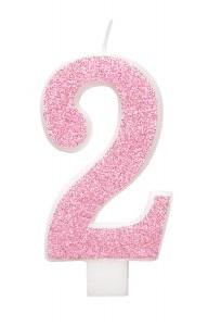 Pink Glitter No2 Candle