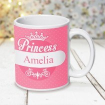 Pink Princess Design Mug