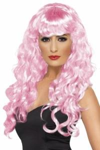 Pink Siren Wig