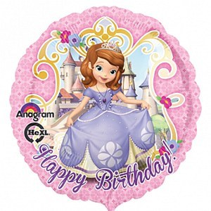 Princess Sofia BirthdayBalloon