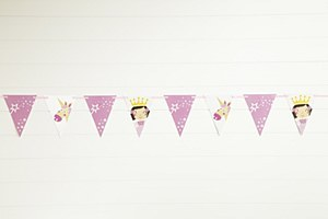 Princess & Unicorn Banner