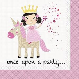 Princess & Unicorn Napkins
