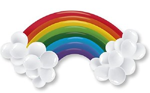 Rainbow Balloon Kit