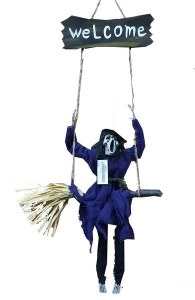 Reaper On A Swing Decoration