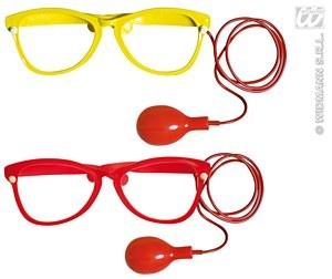 Red Clown Glasses