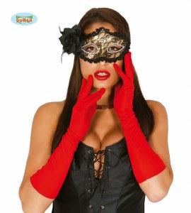 Red Cotton Gloves