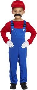 Red Workman Costume