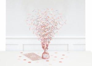 Rose Gold Table Centrepiece