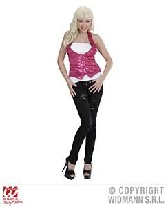 Sequin Pink WaistCoat