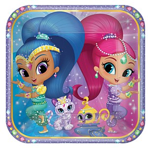 Shimmer and Shine Plates