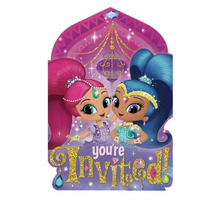 Shimmer and Shine Invites