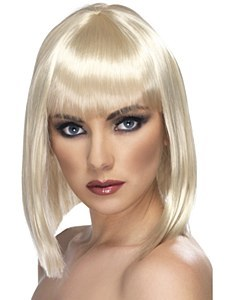 Short Glam Blonde Wig