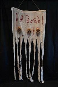 Skull Cloth Sign