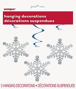 Snowflake Hanging Decorations