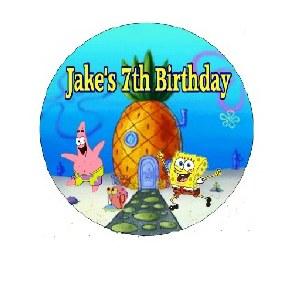 Personalised Spongebob Pinata