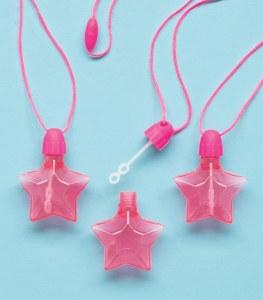 Star Bubbles Pinata Favours