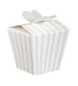 Wedding Stripe Favor Boxes