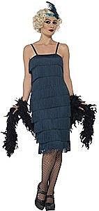 Teal Flapper Costume