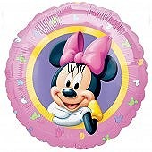 Minnie Mouse Foil Balloon.